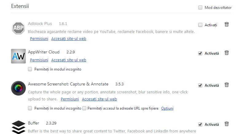 adblock activate