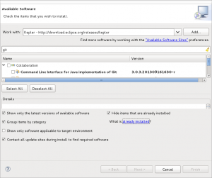 eclipse-installed-software